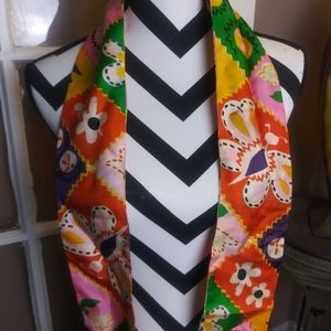 Vintage Butterfly Scarf